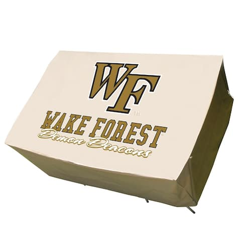 NCAA Wake Forest Demon Deacons Rectangle Patio Set Table Cover