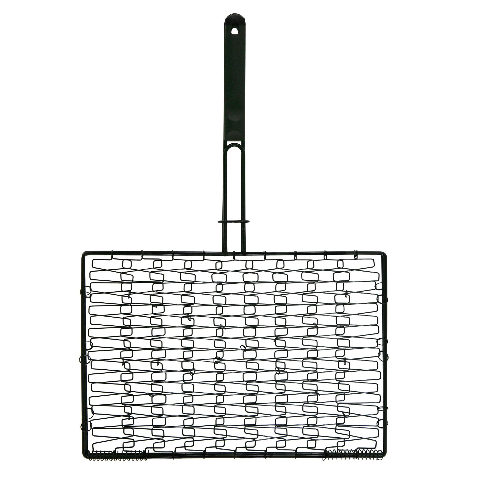 Mr. BBQ Black Deluxe Non-stick Grilling Basket