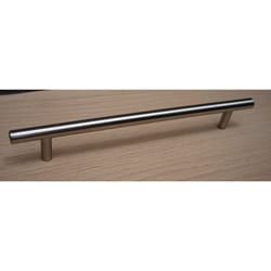 GlideRite 10-inch Solid Stainless Steel Finish Cabinet Bar Pulls (Case of 25)
