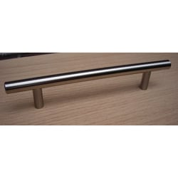 GlideRite 7-inch Solid Stainless Steel Finished Cabinet Bar Pulls (Case of 25)