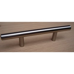 GlideRite 6-inch Solid Stainless Steel Finished Cabinet Bar Pulls (Case of 25)
