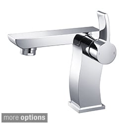 KRAUS Sonus Single Hole Single-Handle Bathroom Faucet in Chrome