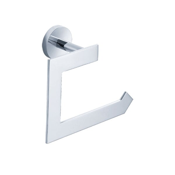 KRAUS Imperium Bathroom Paper Holder without Cover in Chrome. Opens flyout.