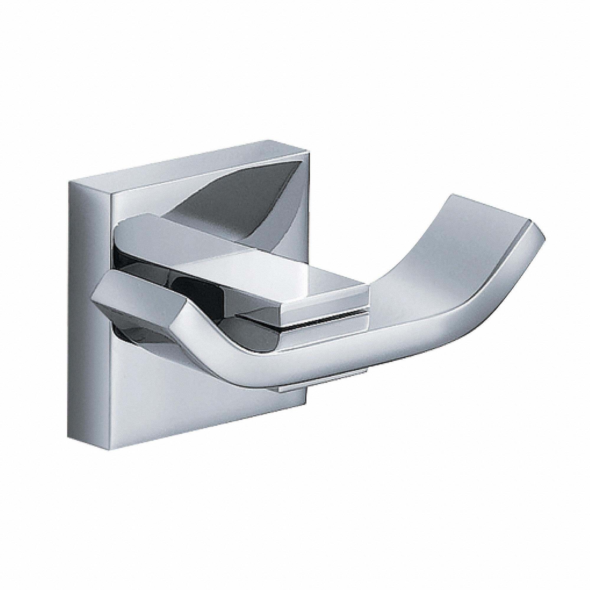 KRAUS Bathroom Accessories - Double Hook in Chrome (Chrome)