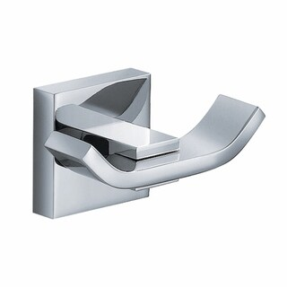 KRAUS Bathroom Accessories - Double Hook in Chrome