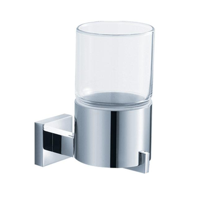 Kraus Aura Bathroom Accessory Wall-mounted Glass Tumbler Holder