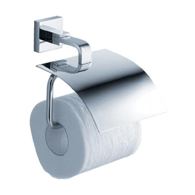 KRAUS Bathroom Accessories - Tissue Holder with Cover in Chrome