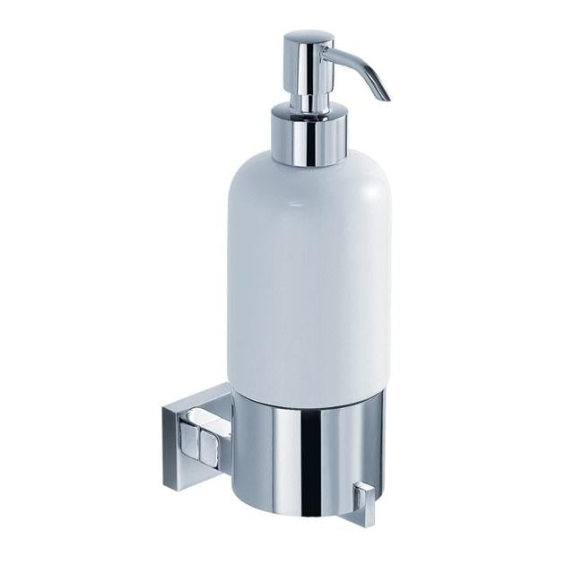 KRAUS Bathroom Accessories - Wall-Mounted Ceramic Lotion Dispenser in Chrome