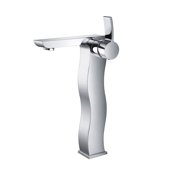 KRAUS Sonus Single Hole Single-Handle Vessel Bathroom Faucet in Chrome