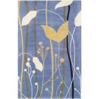 Safavieh Handmade Gardens Blue New Zealand Wool Area Rug - 5' x 8'