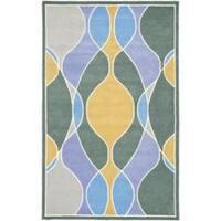 Safavieh Handmade Soho Modern Abstract Multicolored Rug - 3'6 x 5'6