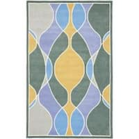 Safavieh Handmade Soho Modern Abstract Multicolored Rug - 7'6 x 9'6