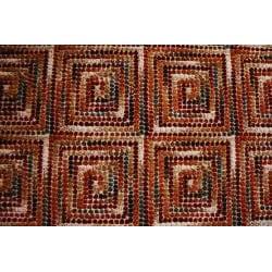 Albus Multi Block Floral Rug (3'9 x 5'6) - Thumbnail 1