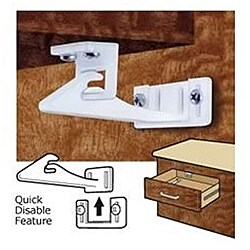 Mommy's Helper Safe-Lok Quick Disable Cabinet Latch
