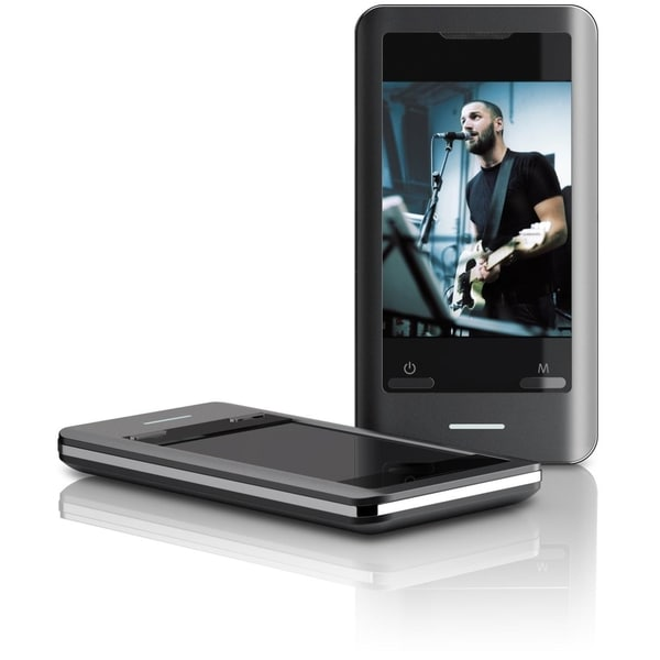 Coby MP827 8 GB Black Flash Portable Media Player