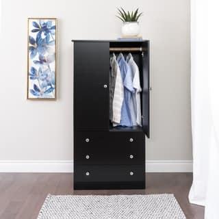 juvenile wardrobe with three drawers 3 finishes - Closet Wardrobe