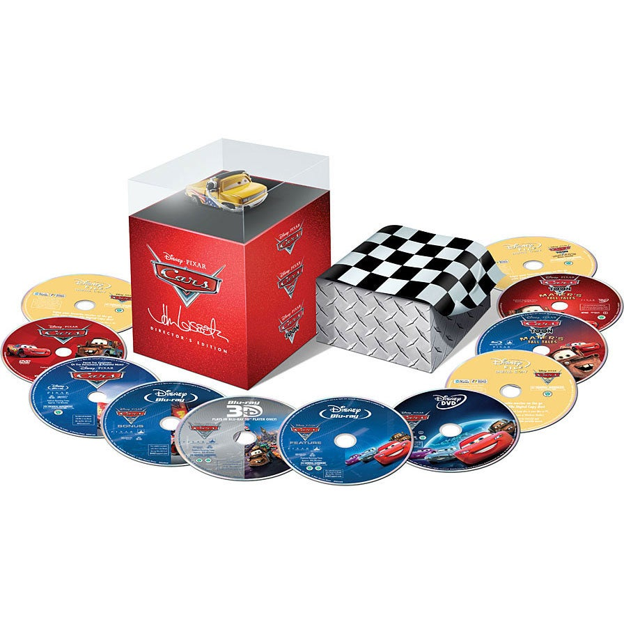 Cars Director's Edition Box Set (Blu-ray/DVD)