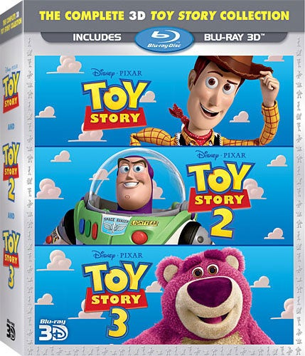 The Complete 3D Toy Story Trilogy (Blu-ray 3D)