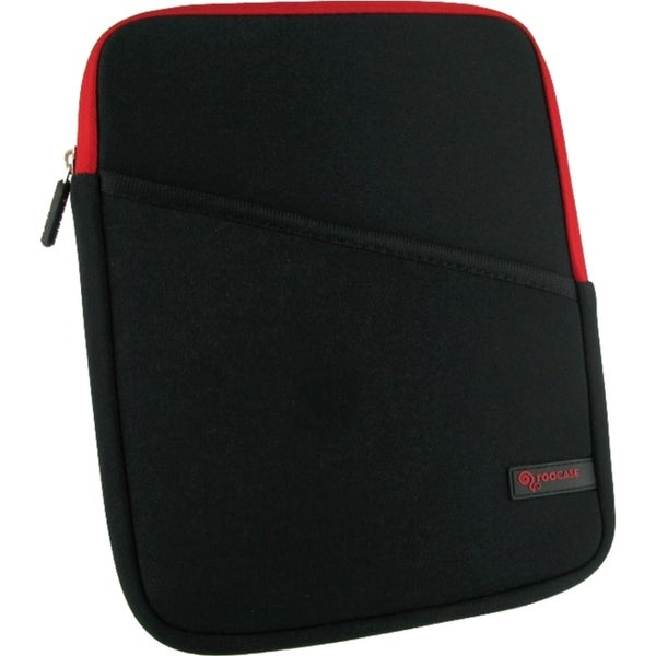rooCASE Super Bubble Neoprene Sleeve Case for iPad, Tablet - Red