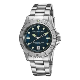 Stuhrling Original Men's Regatta Sailor Divers Swiss Watch