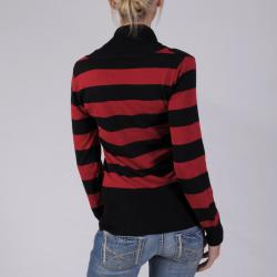 Ci Sony by Adi Juniors Striped V-neck Sweater - Thumbnail 1