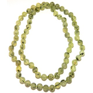 Pearlz Ocean Prehnite Knotted Endless Necklace