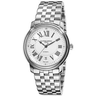 Frederique Constant Men's 'Persuasion Heart Beat Date' Stainless Steel Watch