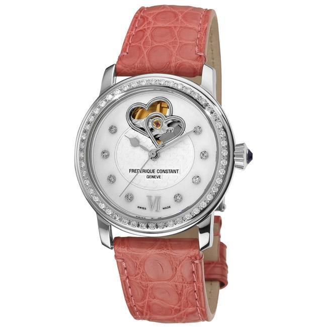 Frederique Constant Women's FC-310DHB2PD6 'Automatic Double Heart Beat' Watch