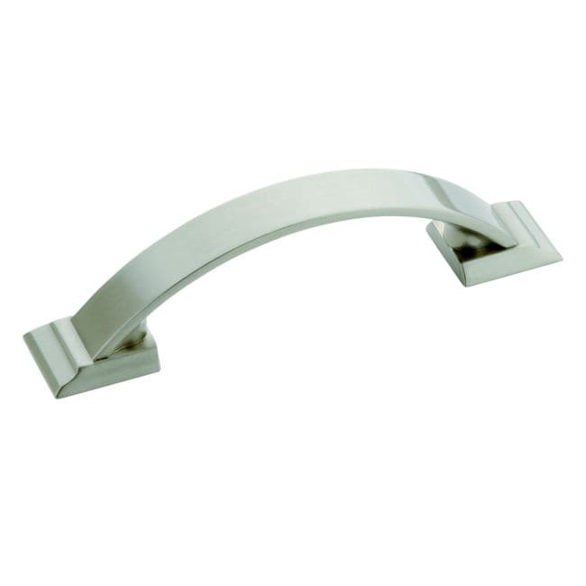 Bon Amerock Candler 4.375 Inch Satin Nickel Cabinet Pull (Pack Of 5)