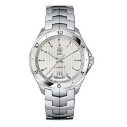 Tag Heuer Men's WAT2011.BA0951 'Link' Automatic Movement Watch|https://ak1.ostkcdn.com/images/products/6175243/77/394/Tag-Heuer-Mens-WAT2011.BA0951-Link-Automatic-Movement-Watch-P13829181.jpg?impolicy=medium