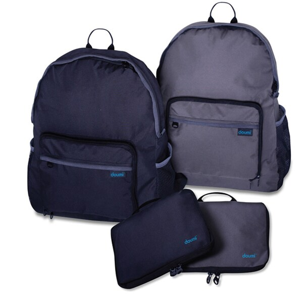 Doumi 17-inch Foldable Rip Stop Backpack