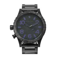 Nixon Men's Chronograph Black Stainless Steel Watch