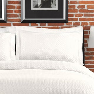 LaMont Home Diamante Collection  100% Cotton Matelassé Sham
