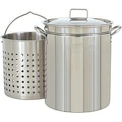 Bayou Classic 44-qt Steamer and Boiler Pot|https://ak1.ostkcdn.com/images/products/6175353/Bayou-Classic-44-qt-Steamer-and-Boiler-Pot-P13829263.jpg?_ostk_perf_=percv&impolicy=medium