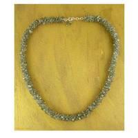 Handmade 'Sensuous' Labradorite Beaded Necklace (India)