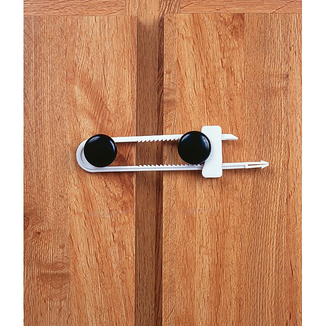 Mommy's Helper Slide Latch Cabinet Latches (Pack of 2)