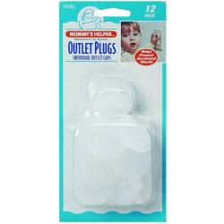 Mommy's Helper Outlet Plugs (Pack of 12)