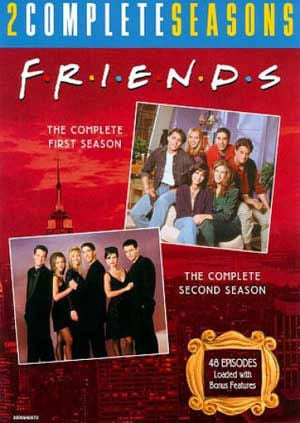 Friends: Complete 1st & 2nd Seasons (DVD) - Thumbnail 0