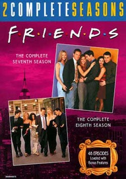Friends: Complete 7th & 8th Seasons (DVD)