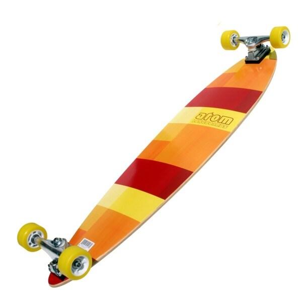 Atom 39-inch Pin-Tail Longboard
