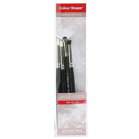 Colour Shaper Medium Painting and Pastel Blending Tools (Set of 4)