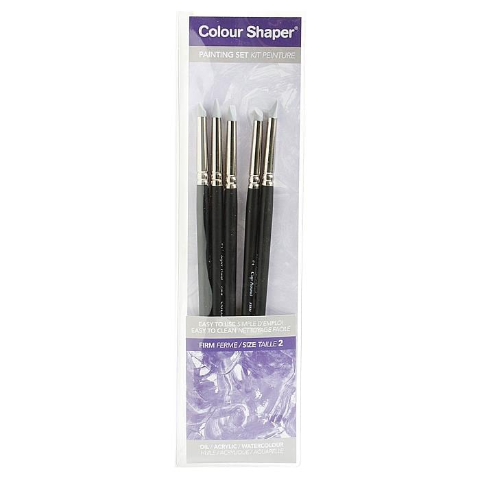 Colour Shaper Medium Painting and Pastel Blending Tools (Set of 5)