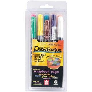Permapaque Paint Marker Fine Point Set