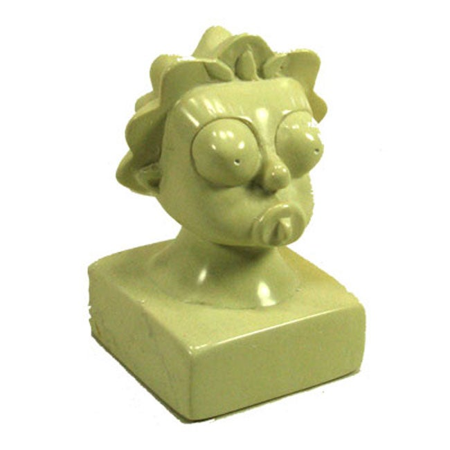 Hand-Carved The Simpsons 'Maggie Simpson' Soapstone Sculpture (Kenya)