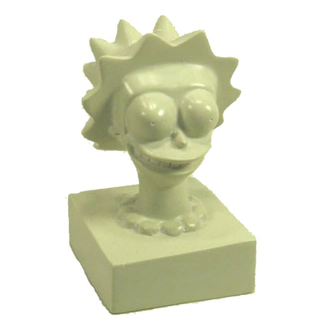 Hand-Carved The Simpsons 'Lisa Simpson' Soapstone Sculpture (Kenya)