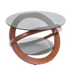 Linx Bent Wood Accent Coffee Table - Thumbnail 1