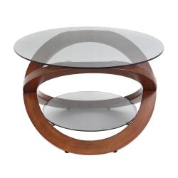 Linx Bent Wood Accent Coffee Table - Thumbnail 2