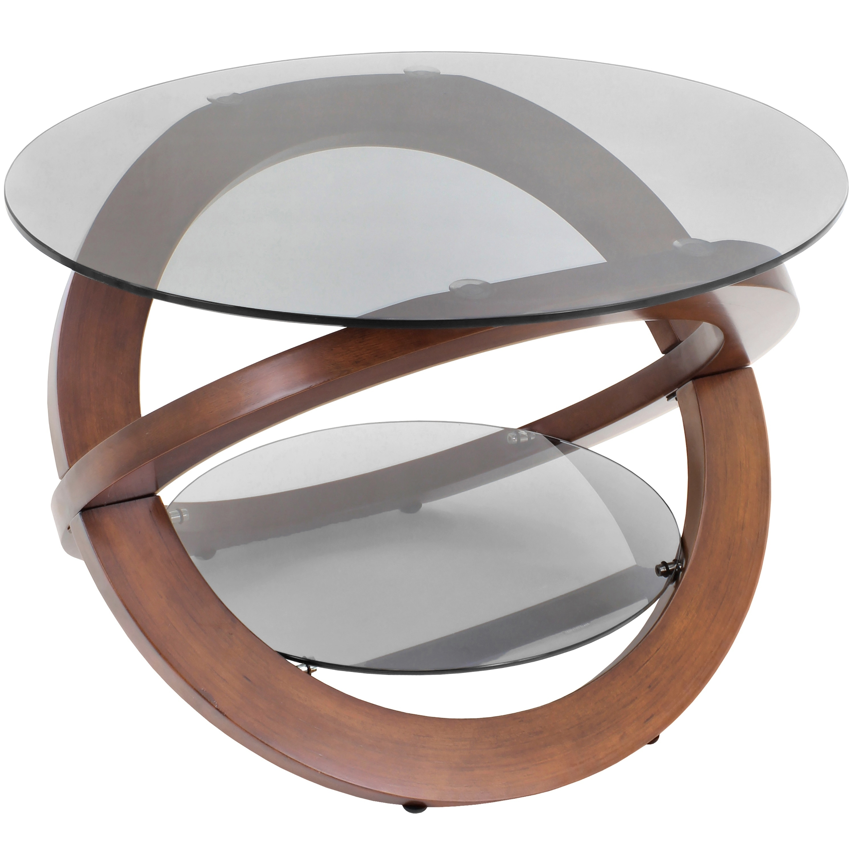 Lumisource Linx Bent Wood Accent Coffee Table (Linx Table...