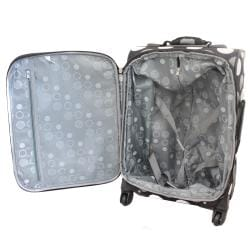 Rockland Dots 20-inch Expandable Carry-on Spinner Upright