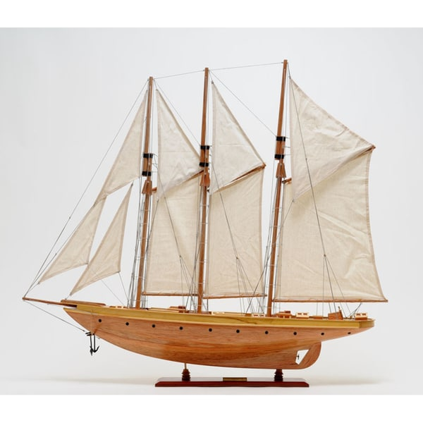 Old Modern Handicrafts 'Atlantic' Yacht Model